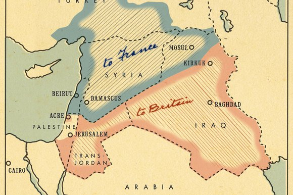 Almost 100 Years After The Sykes Picot Agreement They Are Still